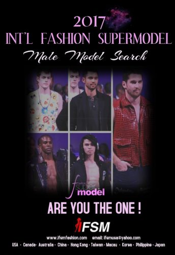 2017 IFSM Male search poster