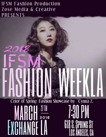 IFSM Fashion WeekLA Cynna